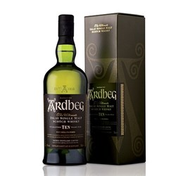 "Whisky ""TEN"" 10 Years Old - Ardbeg"