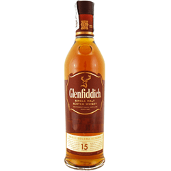 Single Malt Scotch Whisky Glenfiddich 15 years old