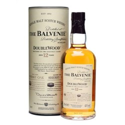 Single Malt Scotch Whisky DoubleWood 12 Years - The Balvenie