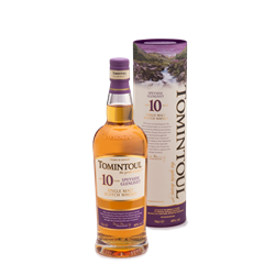 Single Malt Scotch Whisky Tomintoul 10 years old